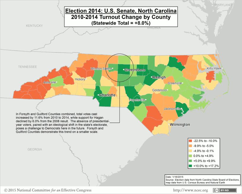North Carolina 2014 U.S. Senate Post-election Analysis – National ...